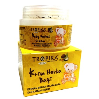 Tropika baby Herbal Cream- Merawat batuk & selsema