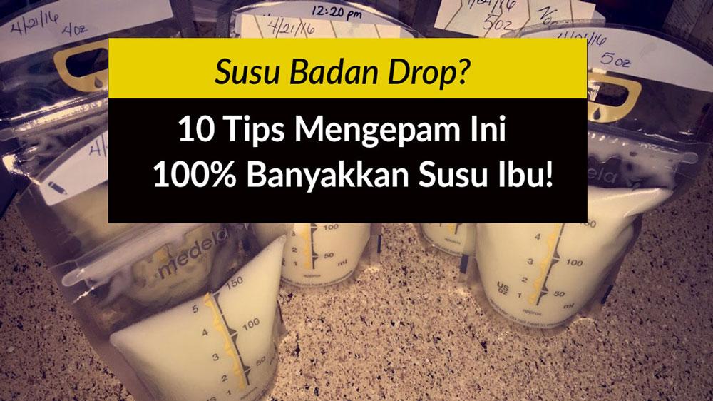 10 tips banyakkan susu badan ibu